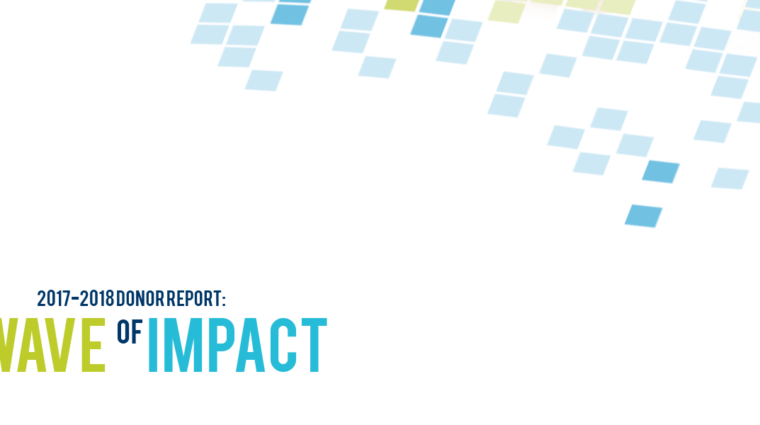 2017-18 Donor Impact Report
