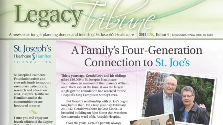 2015 Legacy Tribune