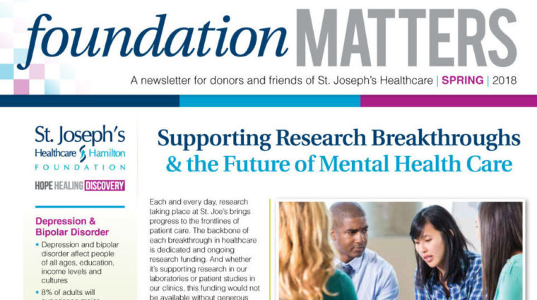 Foundation Matters - Spring 2018