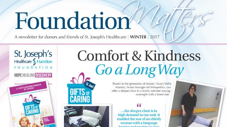 Foundation Matters - Winter 2017