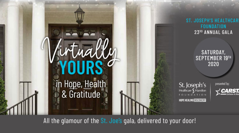 Gala: Virtually yours in Hope, Health & Gratitude