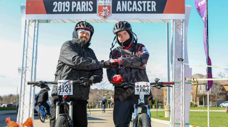 Paris to Ancaster: A Ride for Research