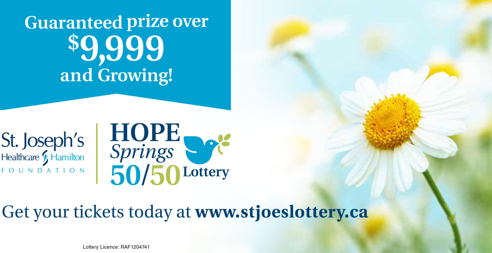 Hope Springs 50/50 Lottery