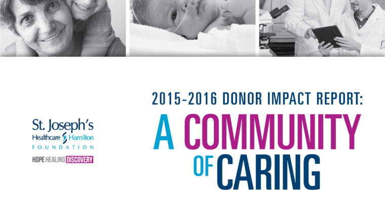 2015-16 Donor Impact Report