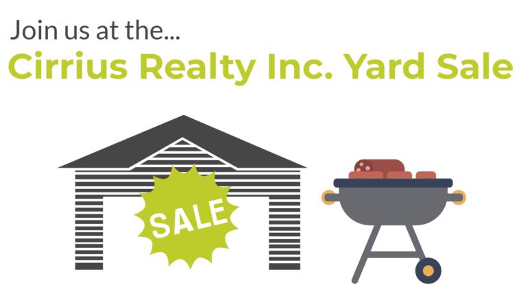 Cirrius Realty Inc. Yard Sale
