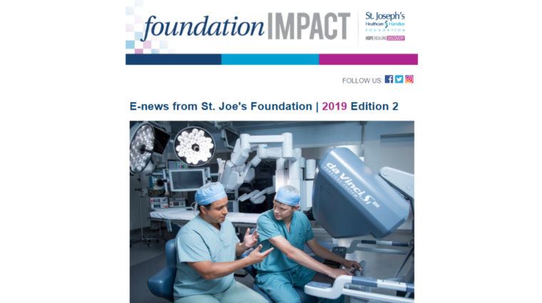 Foundation Impact - Spring 2019