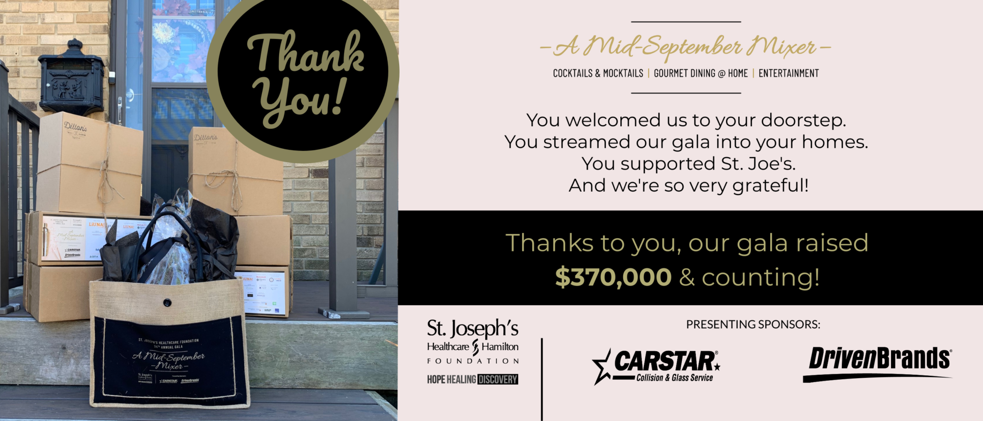 Our Gala Raises $370,000 to Support St. Joe's!